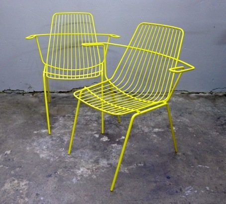Wireware Chairs Collectika Vintage And Retro Furniture Shop