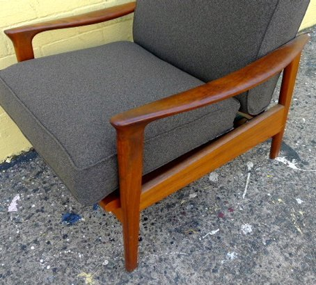 1960s furniture parker recliner armchair collectika